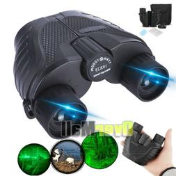 10x25 Zoom with Night Vision Outdoor Travel Binoculars Hunti