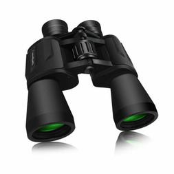 10x50 full size binoculars outdoor camping hunting