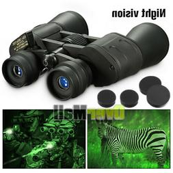 180x100 Zoom with Night Vision Outdoor Travel Binoculars Hun