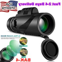 40X60 Binoculars BAK4 Prism High Power Waterproof With Night