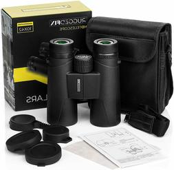 Adult Compact Bird Watching Binoculars - Lightweight, Powerf