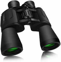 Binoculars SkyGenius 10x50 Pro Durable FullSize Clear Watchi