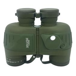 Built-in Compass Military Binoculars Floating Waterproof Bin