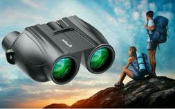 Day/Night 10x25 Powerful Compact& Light Binoculars Hunting C