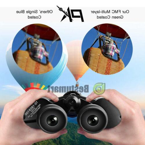 100x180 Outdoor Day&Night Army Zoom Optics Hunting Camping