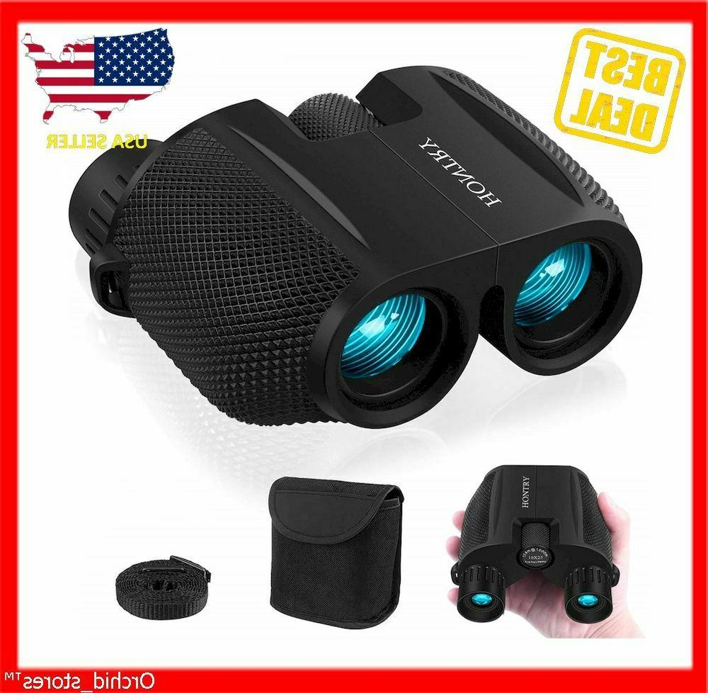 binoculars for adults and kids 10x25 compact