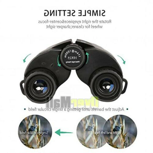 Binoculars Adults 10x25 Bird Night
