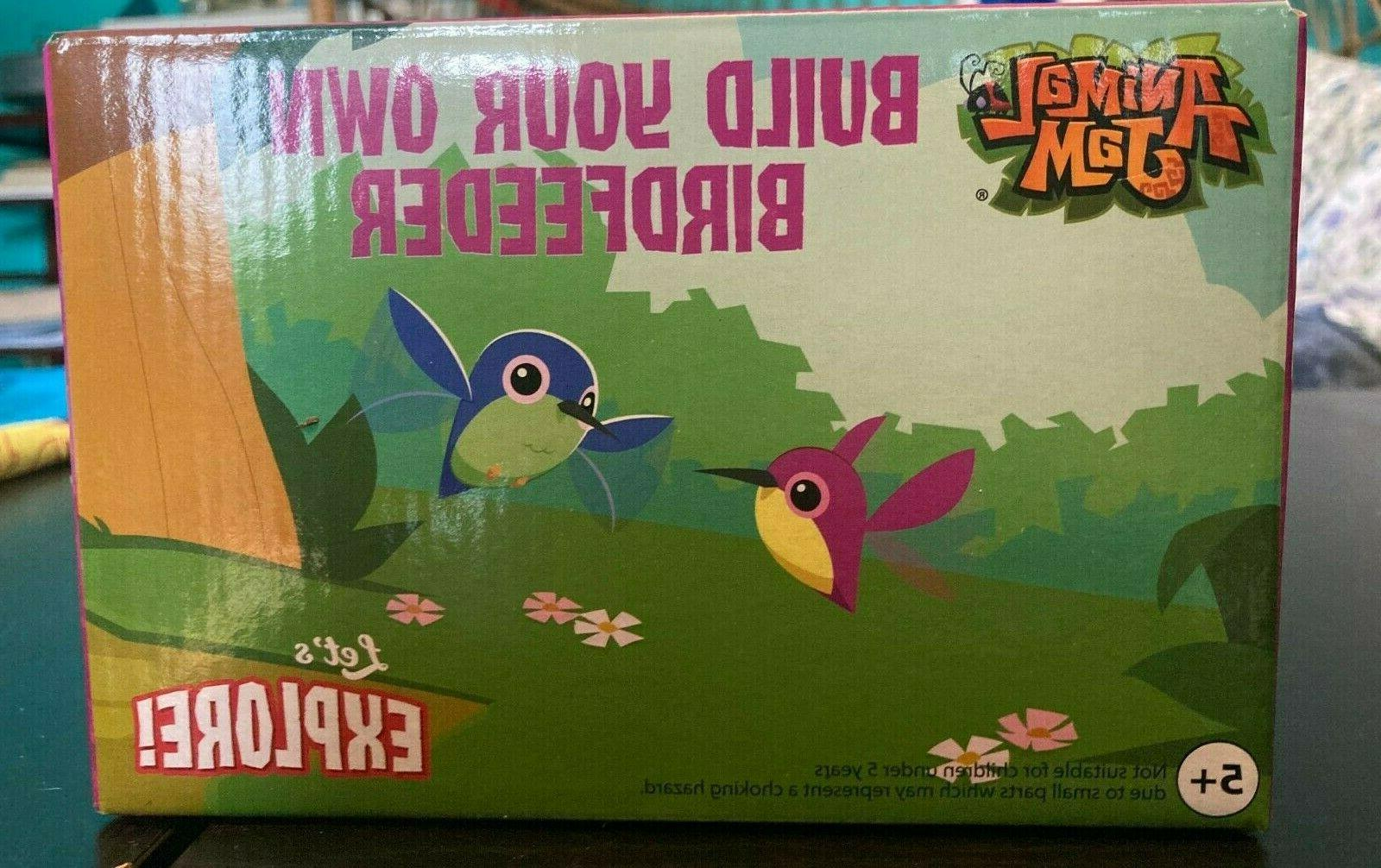 Build your Own Bird Feeder and Animal Jam and