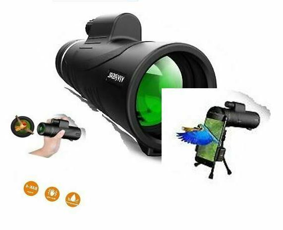 MONOCULAR TELESCOPE UPGRADED 3 FEATURES FOR BIRD WATCHING AN