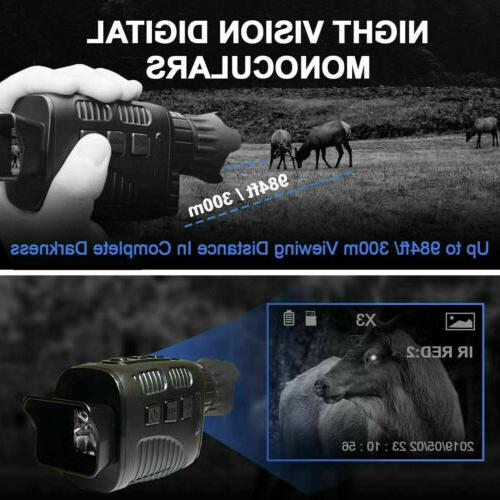 Night Binocular Monocular Hunting NV Security