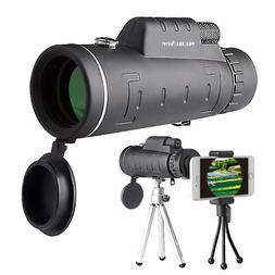 Monocular HD Telescope with Two Tripods 12X50  Zoom High qua